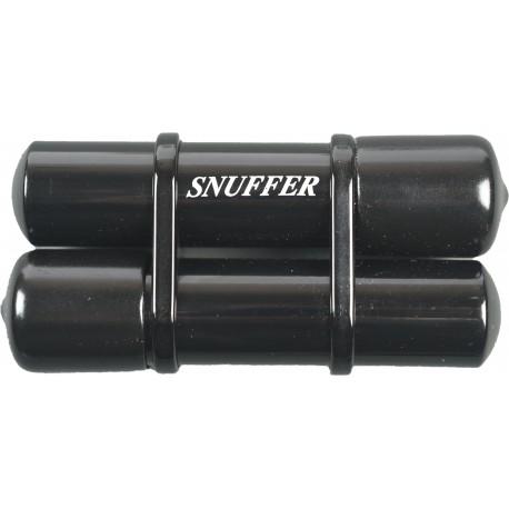 Spegnisigaro Snuffer doppio nero con riserva