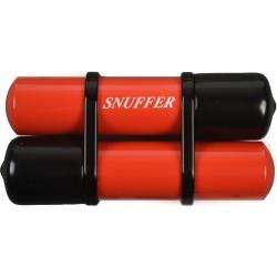 Spegnisigaro Snuffer doppio rosso con riserva