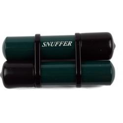 Spegnisigaro Snuffer doppio verde con riserva